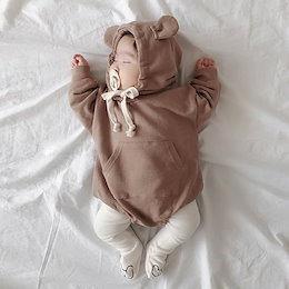 ベビー服 ロンパース  熊の形 可愛い子供服