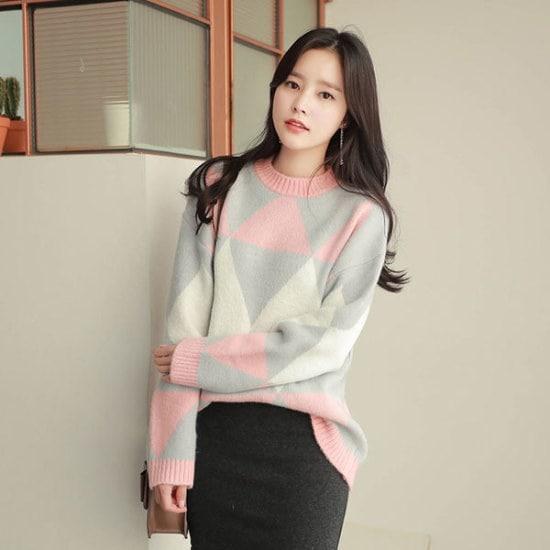 フィオナポグニダイヤknitm5723 ニット/セーター/ニット/韓国ファッション