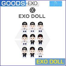 【送料無料/1次予約】 EXO DOLL 25cm 人形(HOODIE付いてます!) SM