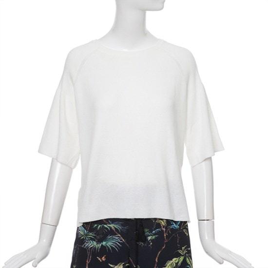 ライン装飾DリングニートNKPOGG60 ニット/セーター/韓国ファッション