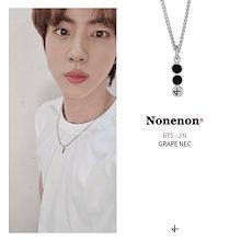 [NONENON][BTS JIN着用] GRAPE NEC 有名人多数愛用 ブランド ネックレス イヤリング  ジュエリー