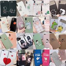 更新中韓国girl and dogカップル漫画携帯電話ケーススマホiPhoneXr iPhoneXs/XケースXsMax 6/7/8Plus iPhone11 ProMaxケースAirpodsケース