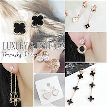💕 LAURENCO💕 NEW UPDATE!!  Trendy 人気ピアス / リング - Korean Style Earrings 新作入庫