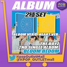 【予約/2種セット】 THE BOYZ 2nd SINGLE ALBUM 【 BLOOM BLOOM 】 公式商品