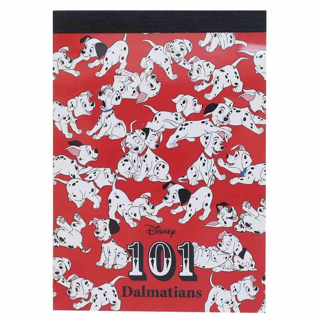 101匹わんちゃん メモ帳 ミニ ミニメモ いっぱい ディズニー サンスター文具 プチギフト キャラクター グッズ メール便可シネマコレクション■