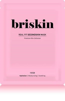 [briskin]ブリースキンリアルフィットセカンドスキンマスク水分集中