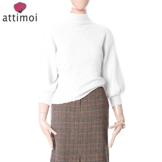 アティムアフェミニンバフ小売ニットATA740004 ニット/セーター/タートルネック/ポーラーニット/韓国ファッション