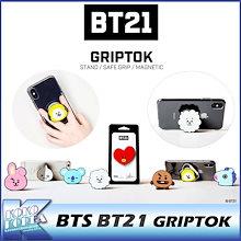 BT21 / BTS / グリップトック / GRIPTOK / 防弾少年団 / スマホアクセ / スマートフォンスタンド / BT21 公式グッズ / OFFICIAL GOODS