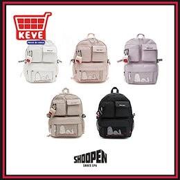 【Shoopen】シュペンスヌーピーマルチポケットバックパック / Shoopen snoopy multi pocket backpack / 5種 / リュック / ポーチ / エアパッドケース