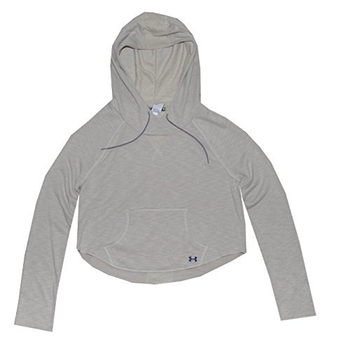 Under Armour Women Lightweight UA Rollick Hoodie (M, Oatmeal Heather)
