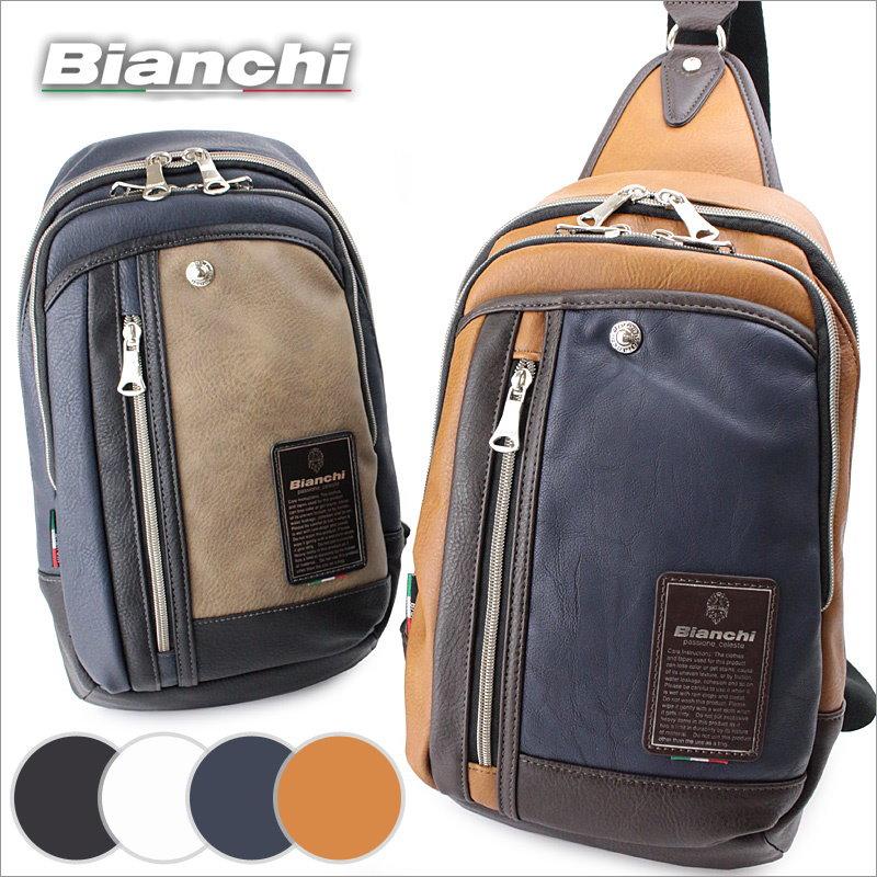 ビアンキ Bianchi ボディバッグ ワンショルダーバッグ TBPIシリーズ TBPI12