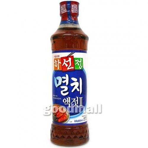 *韓国食品*ハソンジョン イワシエキス 800g [デボラ]