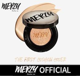 【MERZY】『単品』マージー·ザ·ファースト·クッション·カバー /コスパ+持続力+最強カバー👀