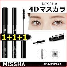 [ミシャ/MISSHA] ★1+1+1★ 4D マスカラ / 韓国コスメ / odd beauty