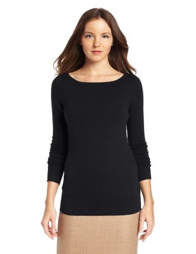 Lilly Pulitzer Womens Marcy Sweater, Black, X-Small