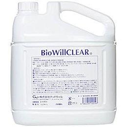 バイオウィル クリア 詰替え用エコボトル 除菌・消臭 4L