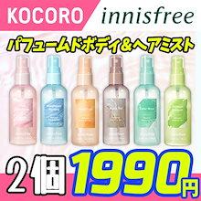 [INNISFREE] ★パフュームドボディ&ヘアミスト - 100ml / ボディミスト / ピーチ Perfumed Body Hair Mist ボディミスト