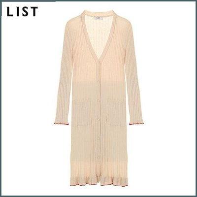 [リスト]リストリブドコットンロングカディゴンTSKCDI10020LB /女性ニット/カーディガン/韓国ファッション