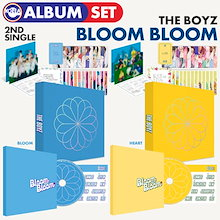 【1次予約限定価格】【 2種セット / THE BOYZ 2集シングル BLOOM BLOOM 】 ドボイズ どぼいず 必ず、韓国チャート反映