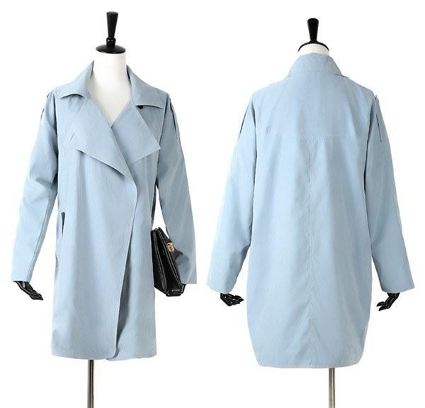 コートレディース トレンチコート 無地 カジュアル スクール ファッション 着心地よい 春新作 通勤 きれいめ春コート レディースコート