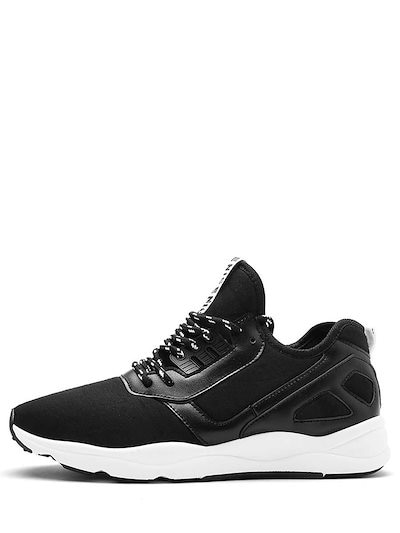 Men s Sports Shoes Patchwork Lace Up Casual Travel Sports Shoes