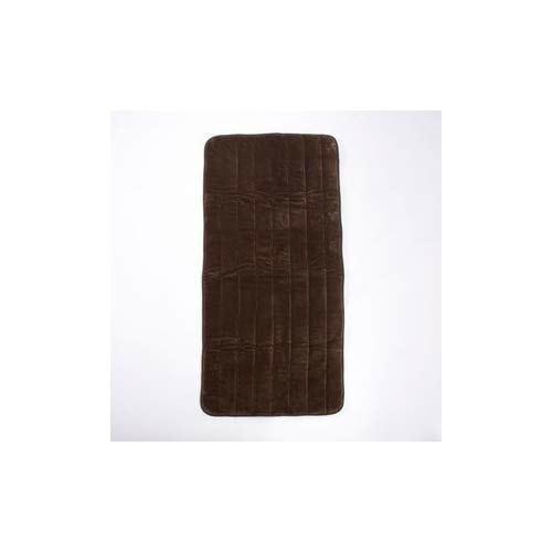 山善 洗えるどこでもカーペット(幅80×長さ180cm) YWC-181F(T)ブラウン