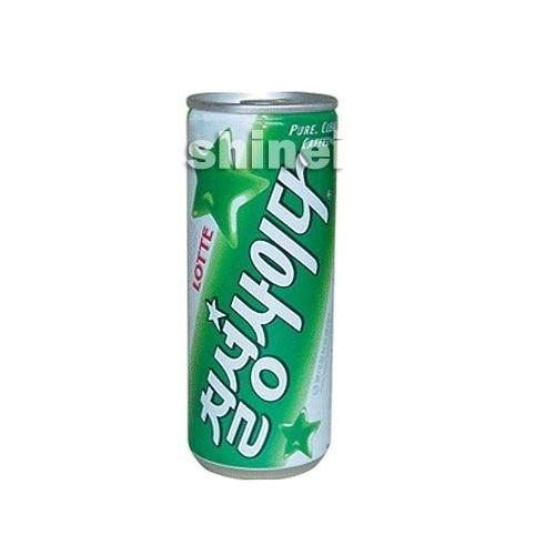 *韓国食品*ロッテ・七星サイダー(缶)250ml[デボラ]