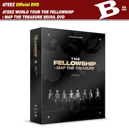 【에이티즈-当店特典+)】 ATEEZ WORLD TOUR THE FELLOWSHIP : MAP THE TREASURE SEOUL DVD 【REGION CODE: 13456】