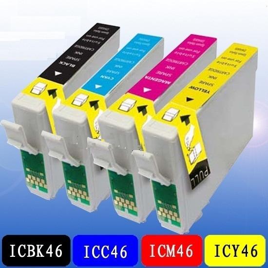 EPSON IC4CL46 IC46 互換インク単品 色組合せ自由☆PX-A620/PX-501A/PX-V780
