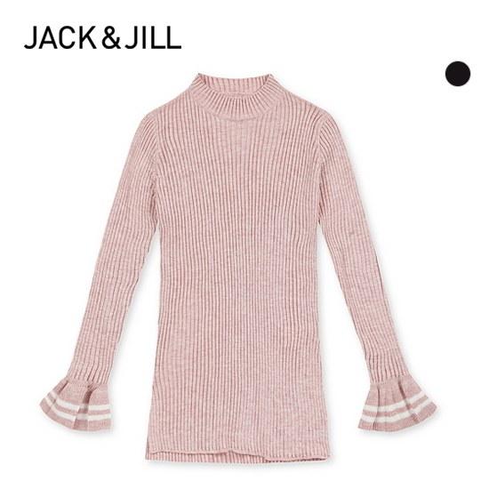 ジャック・アンド・質ジャック・アンド・質女性ハプネクゴルジフリル小売長い腕ニット32173SR502 ニット/セーター/ニット/韓国ファッション