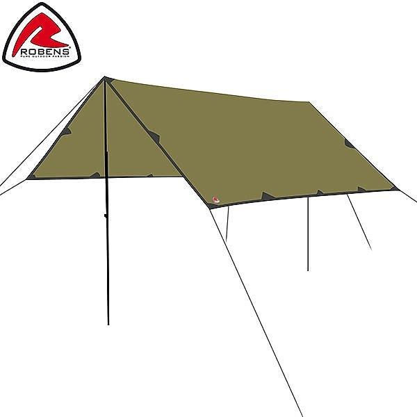 ローベンス Robens トレイル タープ 3 × 3m 130260 テント キャンプ アウトドア 雨よけ 日よけ トレイルシリーズ Tarp Trail Tents