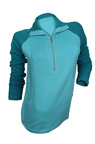 Tommy Bahama Womens Turquoise Color Block Sweater, S