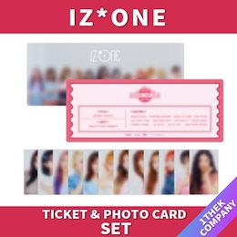 【当店追加特典】【公式グッズ】IZ*ONE 2020 ONEIRIC THEATER 公式Ticket Card Photo Card Set/アイズワン公式グッズ/WizOne