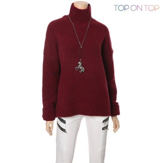 タプオンタプタプオンタプドゥオレルポルラニトゥTP163868 ニット/セーター/タートルネック/ポーラーニット/韓国ファッション