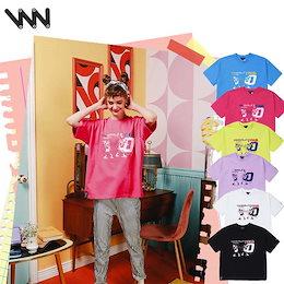 [WV PROJECT]大人気★韓国ブランドWV project TIME Traveler 半袖Tシャツ6 colors