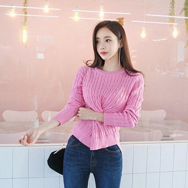 チョンチョンだ揚げ菓子ニットnew 女性ニット/ラウンドニット/韓国ファッション