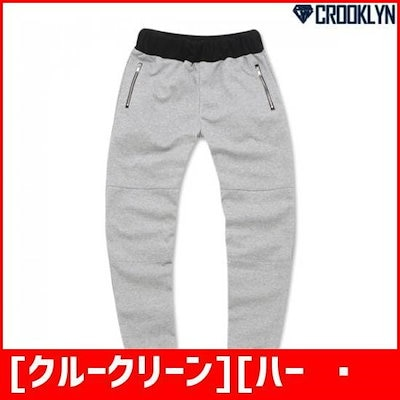 [クルークリーン][ハーフクラブ/CROOKLYN]ジッパー配色鳥居・パンツTPL811 /パンツ/マイン/リンデンパンツ/韓国ファッション