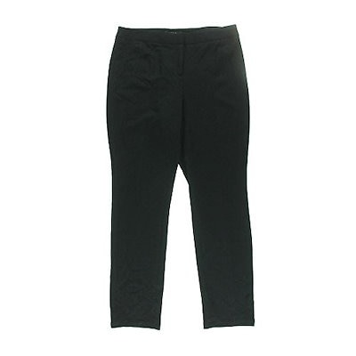 Grace Elements Straight-Leg Ponte-Knit Pants Size 4