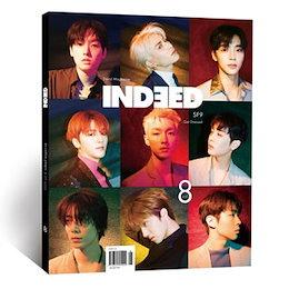 韓国芸能雑誌 INDEED(インディード) 8号 (SF9表紙/OH MY GIRLのジホ&ビニ、Groovyroom、ムン・スイン記事) INDD08