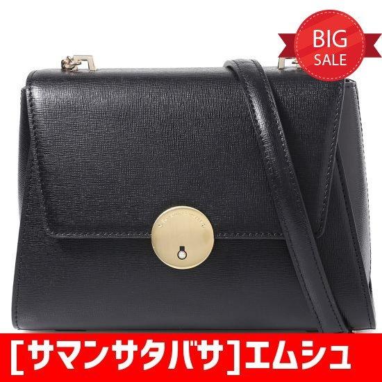 [サマンサタバサ]エムシュシュ金色のバックルミニバック70501MI(BLACK) トートバッグ / 韓国ファッション / Tote bags