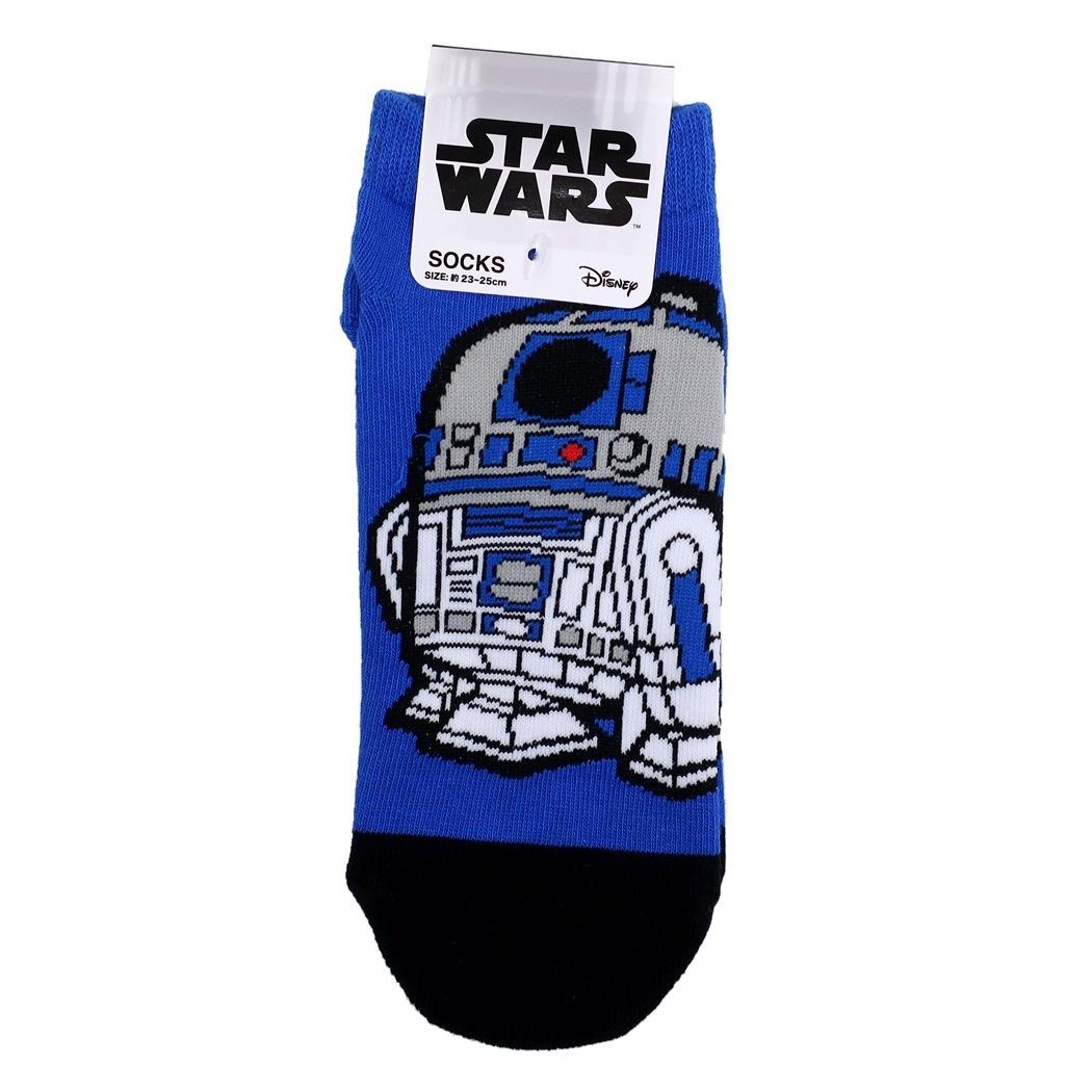 スターウォーズ 女性用 靴下 レディース ソックス R2-D2 ポップ STAR WARS スモールプラネット 23〜25cm SF映画 キャラクターグッズ通販 【メール便可】シネマコレクション■