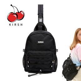 [KIRSH] POCKET STRING SLINGBAG JS ウエストバッグ ボディバッグ 斜め掛けバッグ バッグ レディース メンズ 韓国ファッション
