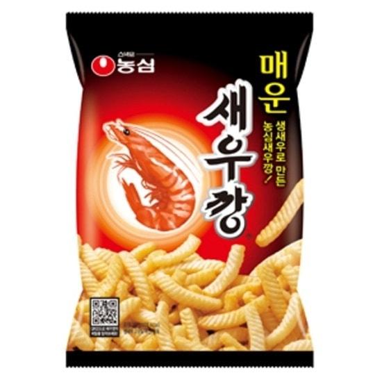 【ノンシム】えびせん(セウカン)(辛口) 韓国、韓国食品、韓国お菓子、お菓子、食料品