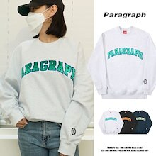 [Paragraph] PRG Colorful Embroidery MTM 公団 スウェット