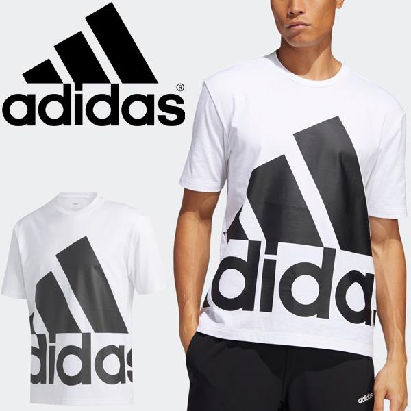 半袖 Tシャツ メンズ アディダス adidas M FAVOURITES Tシャツ/スポーツウェア プリントT ホワイト 白 トップス 半袖シャツ 家トレ/14607-GK3328
