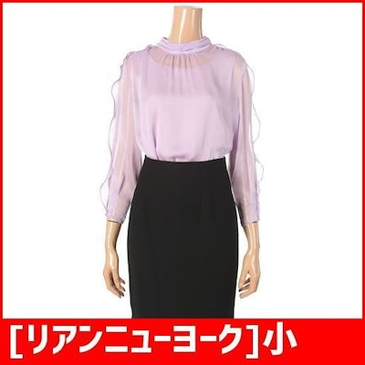 [リアンニューヨーク]小売シャラルラのブラウスRMIWBL040 /レース/フリルブラウス/韓国ファッション