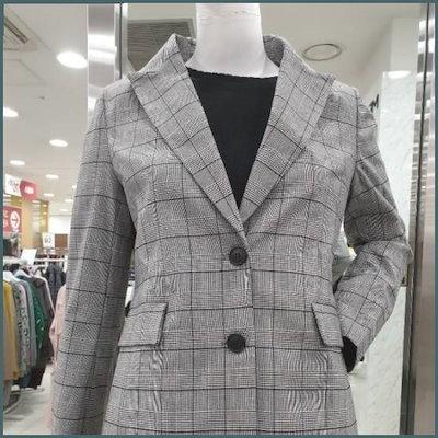 ツーボタンのジャケット /テーラードジャケット/ 韓国ファッション