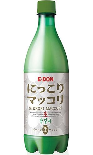 [hantosi韓国お酒マッコリ]E-DONにっこり生マッコリ750ml ※クール便代(選択しない場合は常温便発送/クール便代は1回だけ選び下さい