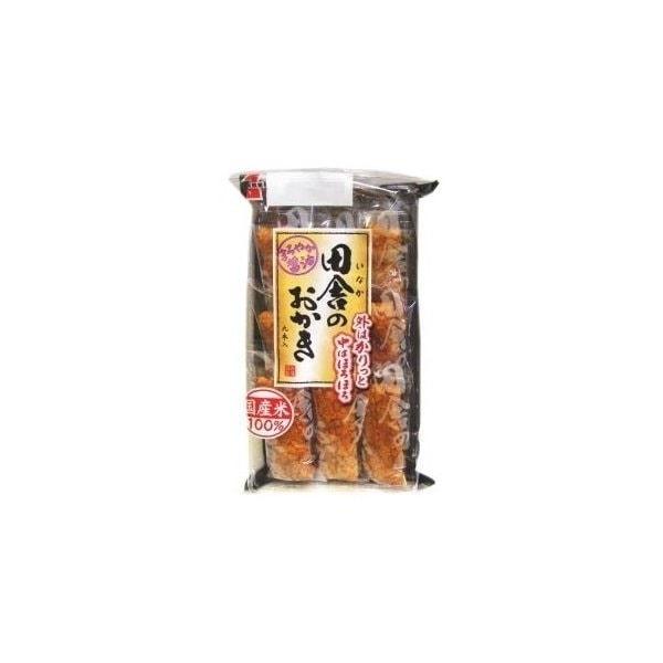 岩塚製菓 田舎のおかき(醤油味) 9本
