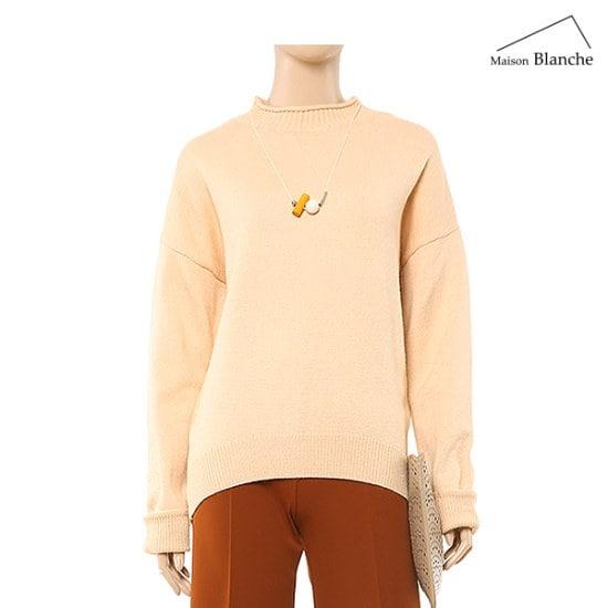 メゾンブルランスィ反目のポーラー・ニットM174PSWA10 ニット/セーター/韓国ファッション